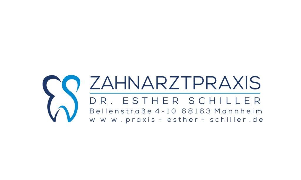 Zahnarztpraxis Dr. Esther Schiller LOGO_mit Adresse.jpg