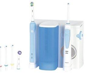 Munddusche als Teil der Zahnpflege