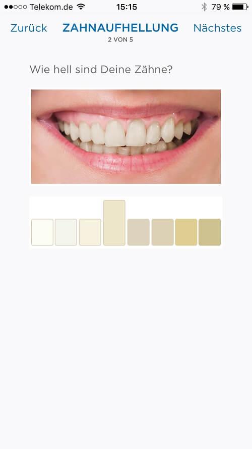 Zähne aufhellen mit Braun Oral B Zahnpflegeanleitung