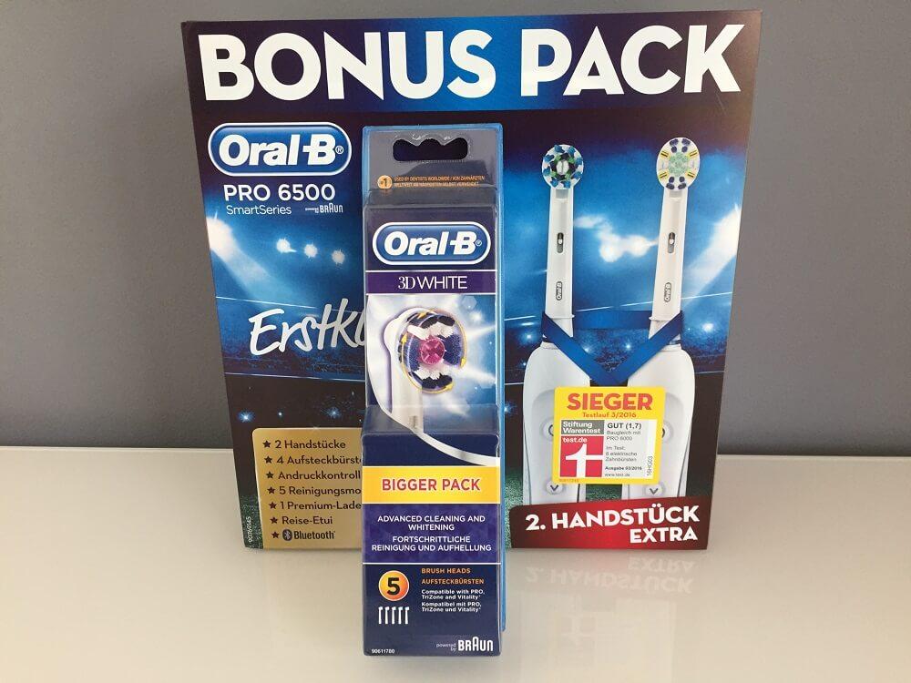 elektrische Zahnbürste Braun Oral B PRO 6500