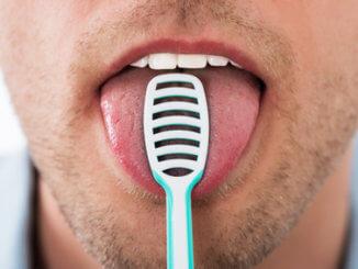 Zungenreiniger & Zungenschaber - Zunge reinigen gegen Mundgeruch