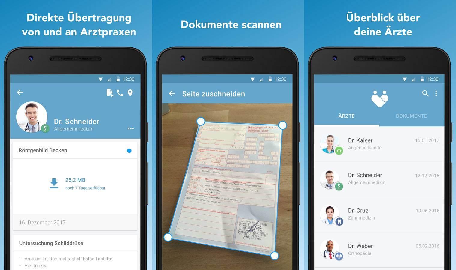 In der LifeTime Gesundheitsapp verwaltest Du deine medizinischen Dokumente